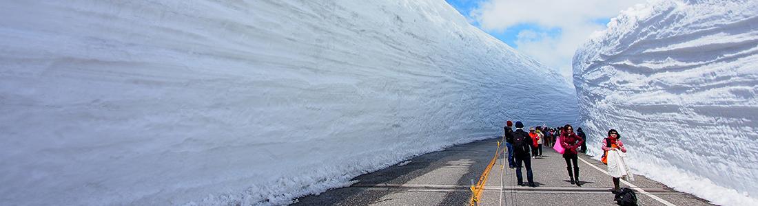 雪之大谷----立山黑部